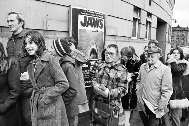 Jaws Queue - Copyright Martin Parr / Magnum Photos