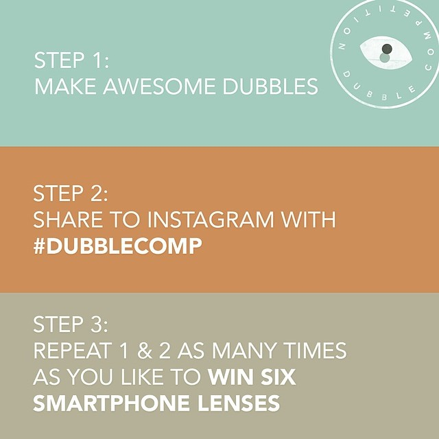 dubble instagram competition
