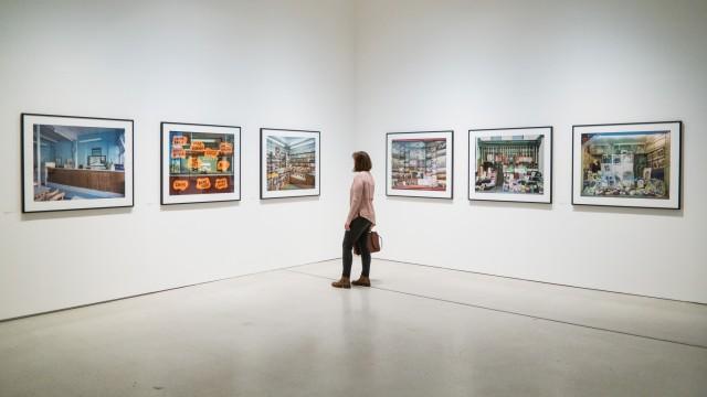 Jim Dow prints at Strange and Familiar at the Barbican