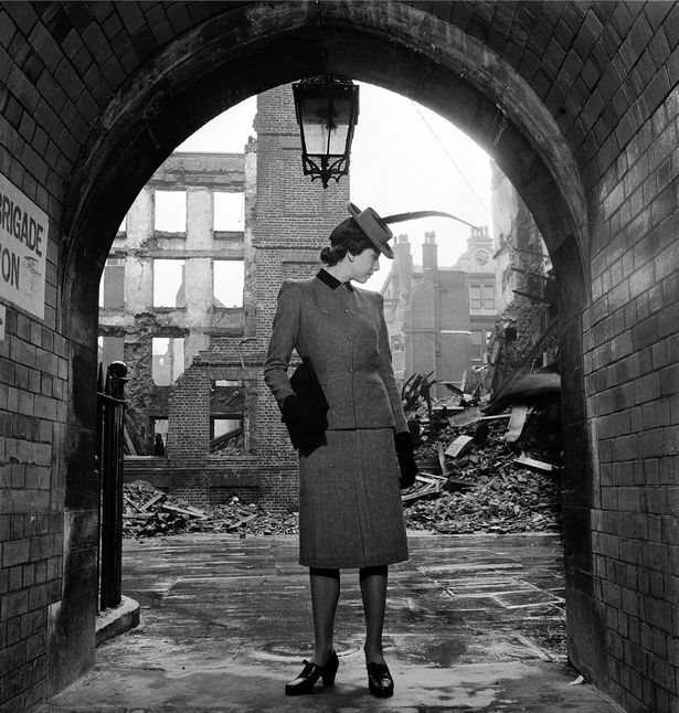 Lee Miller London Bomb Damage 1940