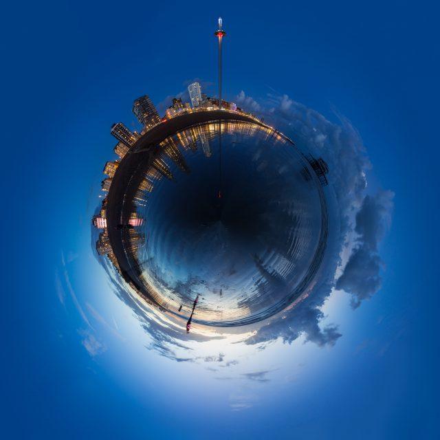 British Airways i360 spherical panorama by Kevin Meredith