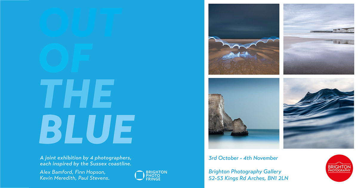 out of the blue exhibition at the brighton photography gallery