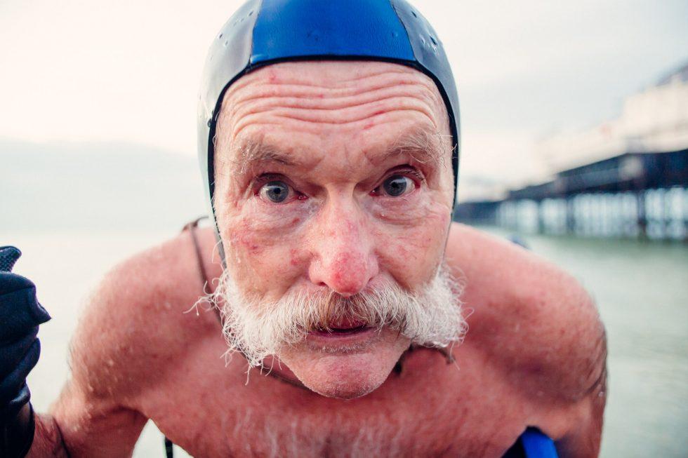David Sawyers of Brighton  Swimming Club shot on the Lomogon Lens