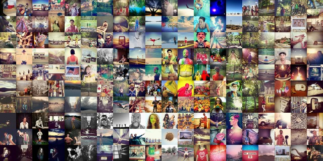 Montage made of Instagram images shot at Phoot Camp 2011 and 2012